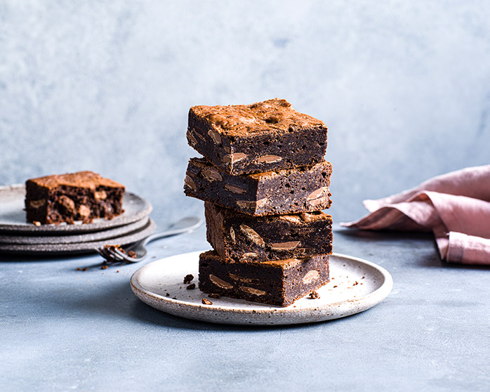 Cakehead famous double choc brownie