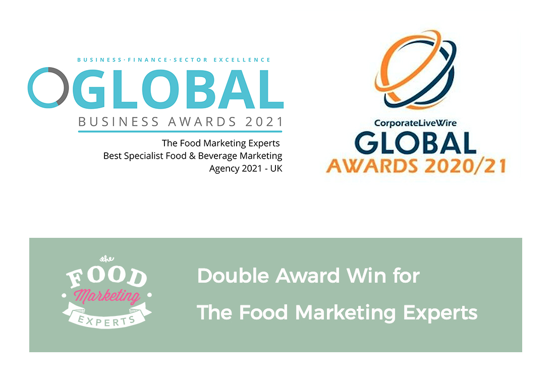 Double Award Win for the Food Marketing Experts