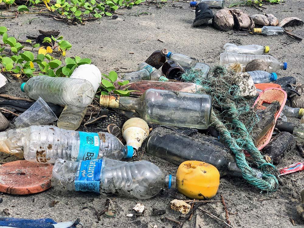 Plastic Free July-Beach