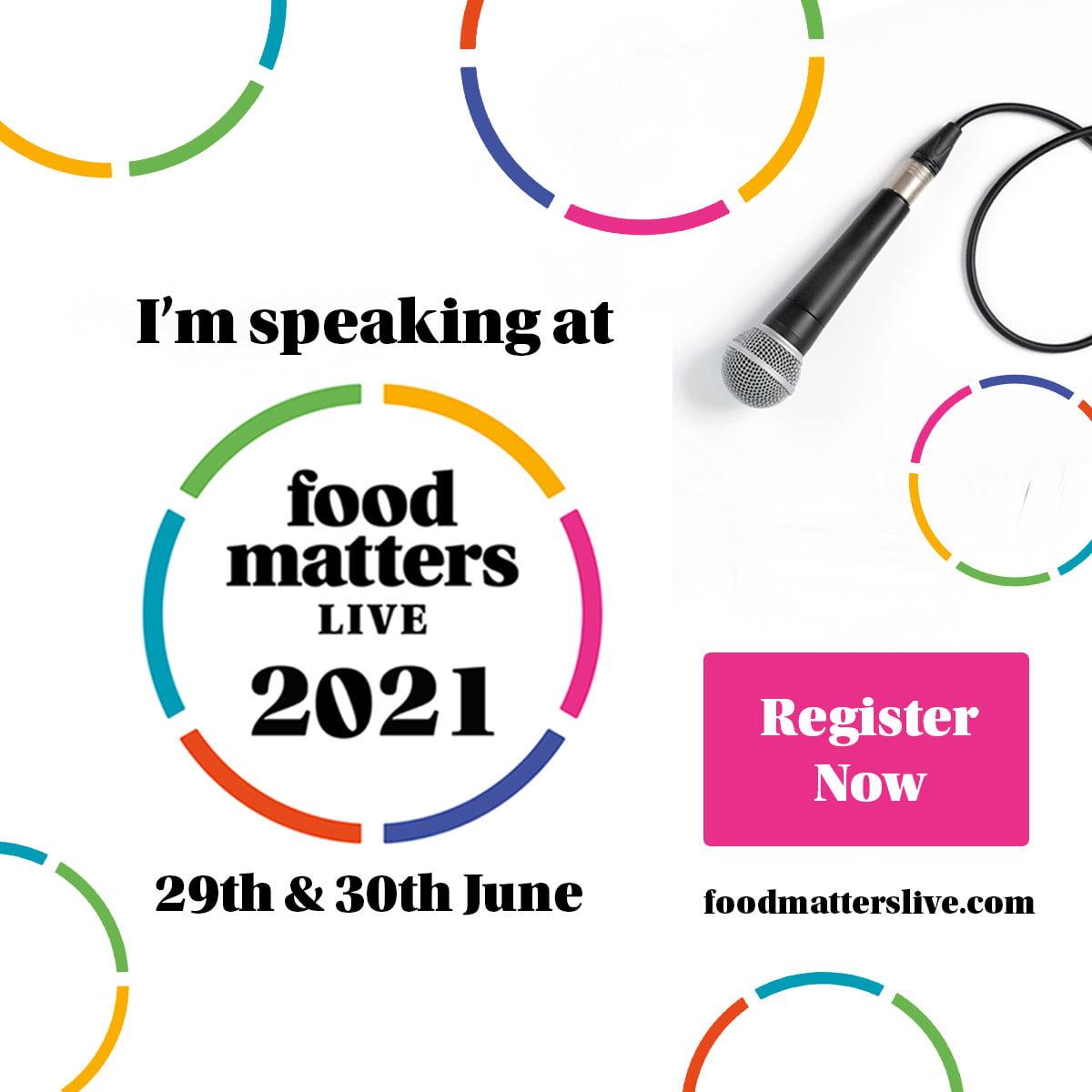 Food Matters Live Speaker - The Food Marketing Experts